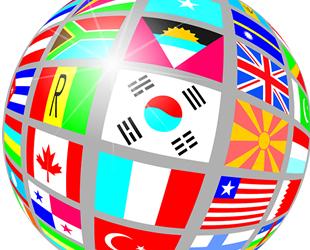 支持多语言服务のイメージ
